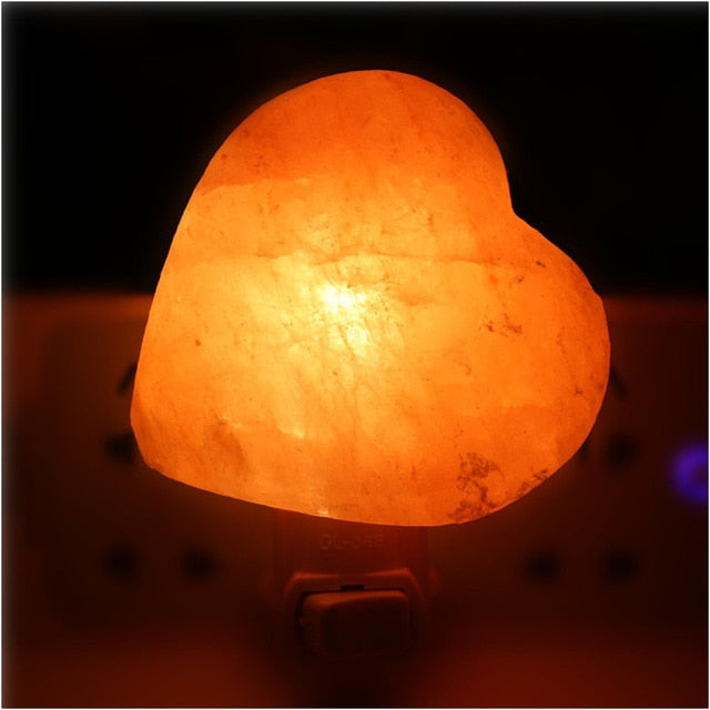 Himalayan Salt Air Purifier Bedside Night Light