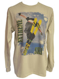 Stripe Skis Sand T-shirt
