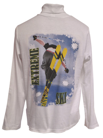 Stripe Skis Turtle Neck