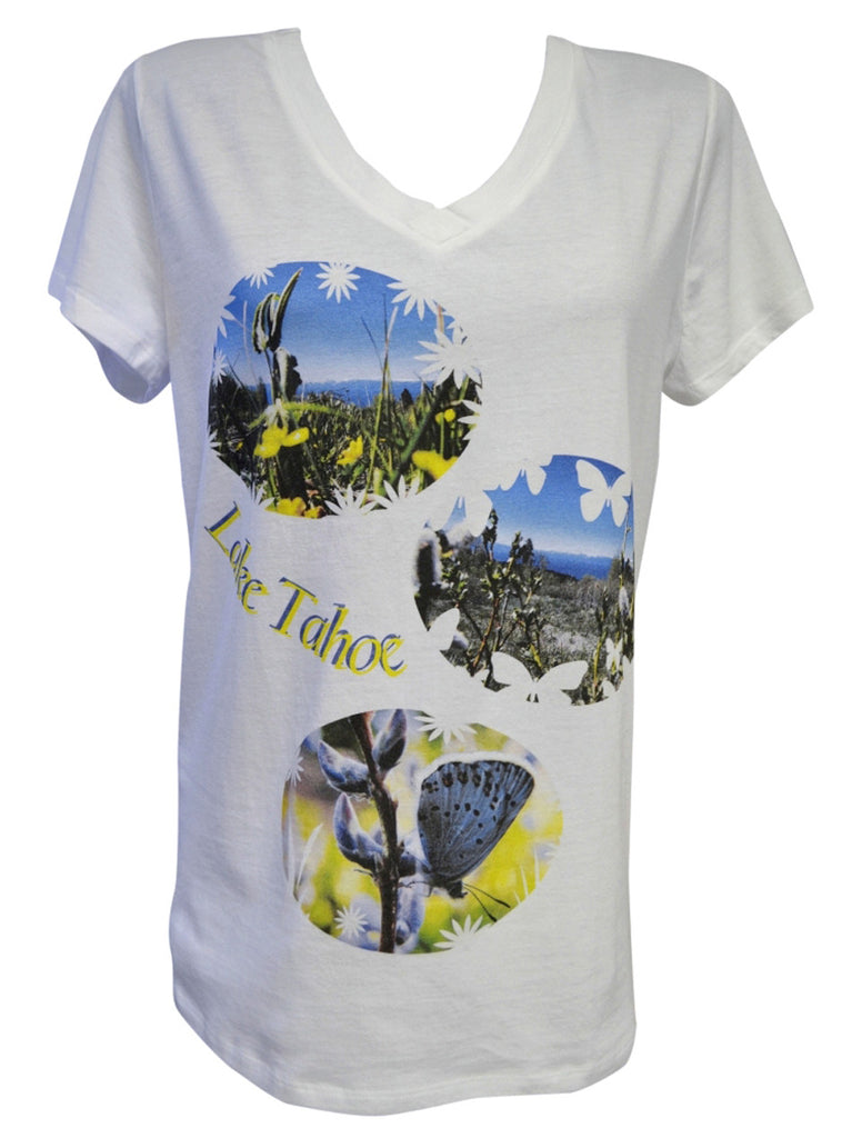Wildflower Power T-shirt Large