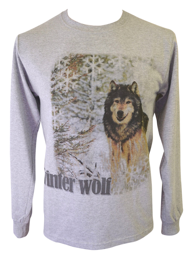 Winter Wolf Grey T-shirt Small