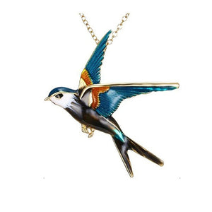 Swallow Necklace - Endangered Beauties LLC