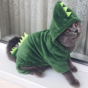 Dinosaur Pet Costume - Endangered Beauties LLC