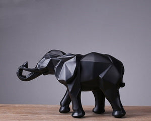 Abstract Elephant Statue - Endangered Beauties LLC