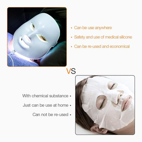 LED Mask Beauty For Face Skin Therapy Facial
