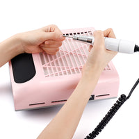 80W Nail Dust Suction Dust Collector Fan Vacuum Cleaner