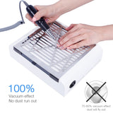 40W New Strong Power Nail Dust Collector Nail Cleaner