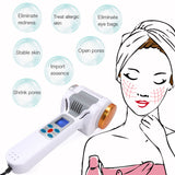Ultrasonic Cryotherapy Hot Cold Hammers Lymphatic Ultrasound Body Face Massager