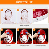 Rechargeable 7 Colors Led Mask Skin Care Device
