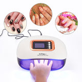 LED Nail Lamp With Two Hand Nail Dryer