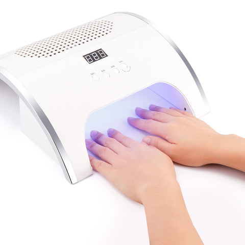 LED Nail Lamp Dual Power Powerful Fan Nail Tool