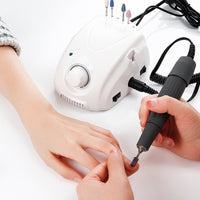 65W Electric Nail Drill Machine Micro Motor Handpiece Set