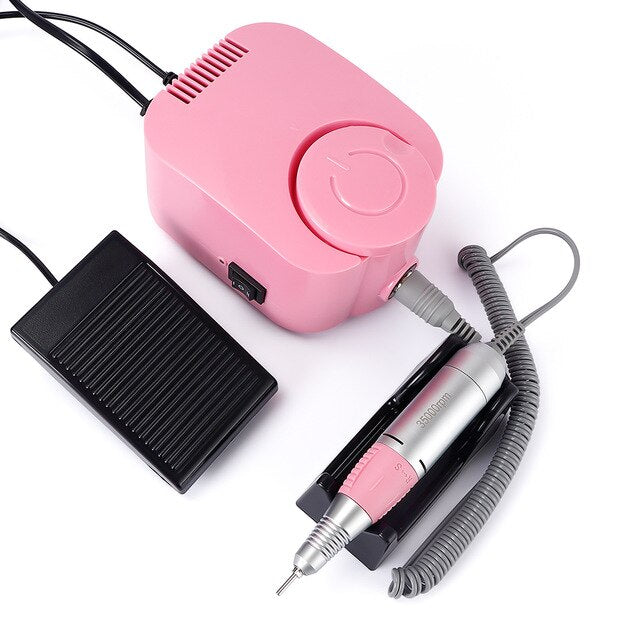 Nail Pedicure Machine Fingernail Drill Equipment Manicure Tools