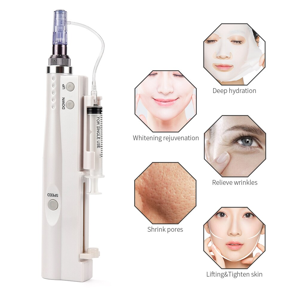 Skin Deep Hydration Care Water Mesotherapy Injector Device