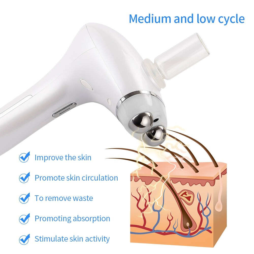 Microcurrent Facial Massager Nutritional Penetration Rejuvenation Beauty Device