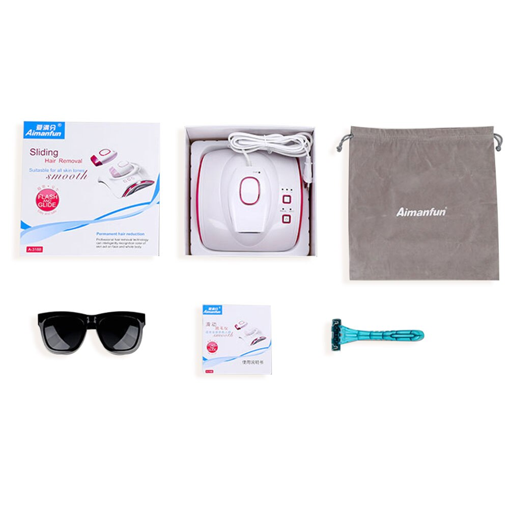 Flash IPL RF Laser Hair Removal Machine Epilator