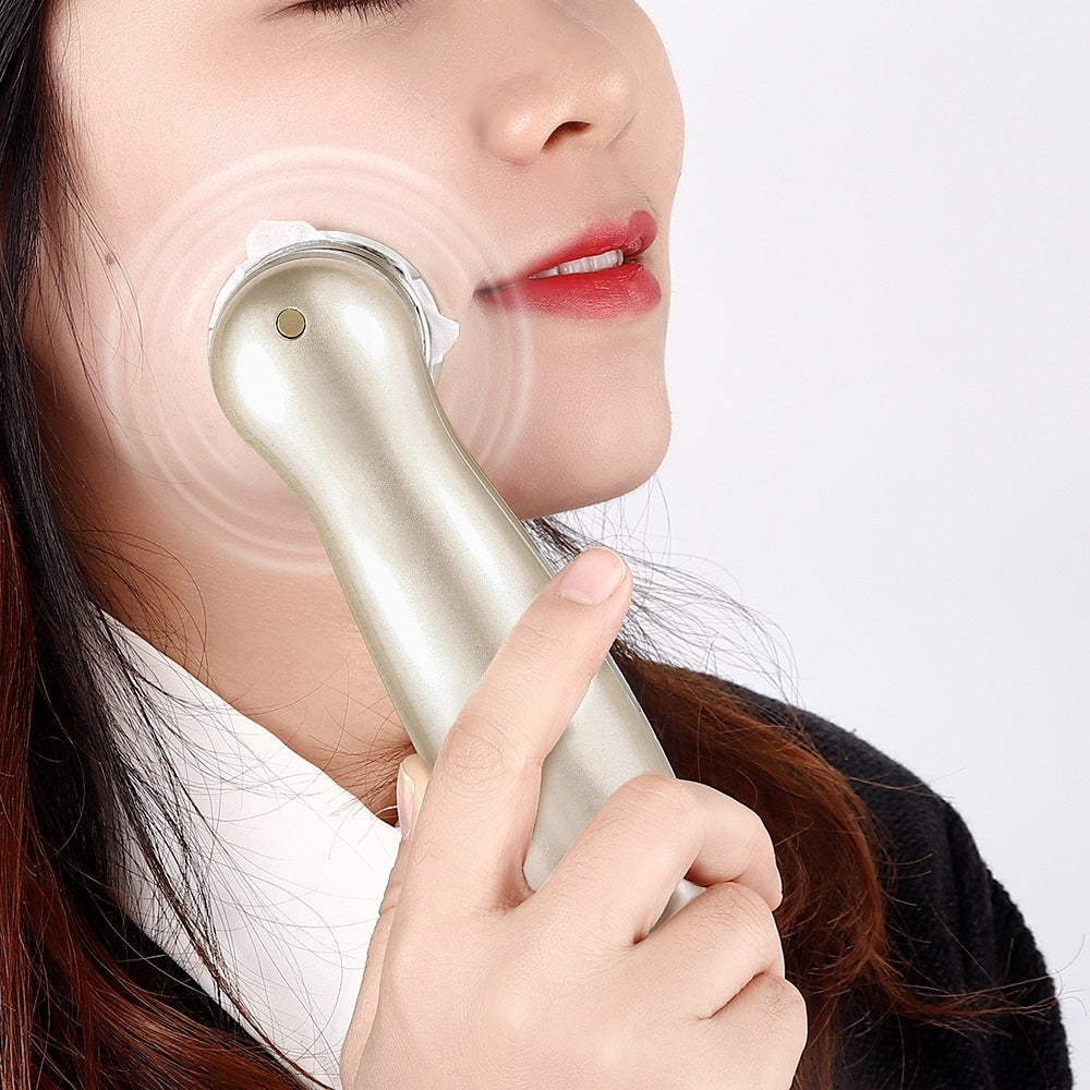 Facial Firming Hot Compression Vibration Massager Wrinkle Removal Device
