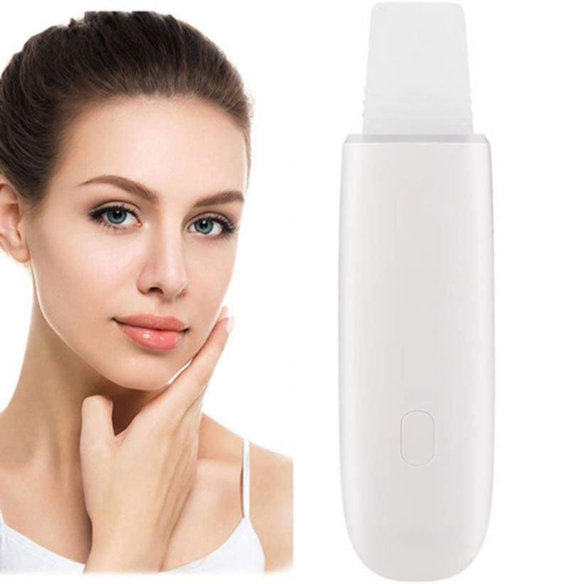 Ultrasonic Deep Face Cleaning Machine Skin Scrubber Remover