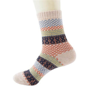 Soft Thick Angora Socks
