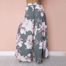 Load image into Gallery viewer, Floral Printed Palazzo Pants