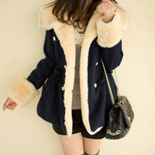 Korean Style Feminine Coat