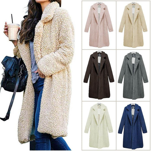 Women Lady Top Coat
