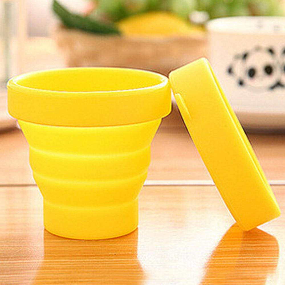 Solid Color Water Silicone Cup