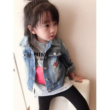 Load image into Gallery viewer, Girl's denim jacket