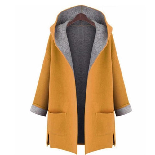 Plus Size Wool Coat
