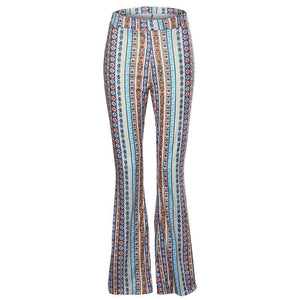High Elastic Waist Vintage Pants