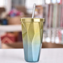 Load image into Gallery viewer, Stainless Steel Colorful Drinking Cup