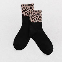 Load image into Gallery viewer, Hot Retro Leopard Print Socks
