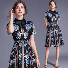 Load image into Gallery viewer, Floral Printed Casual Elegant Dress