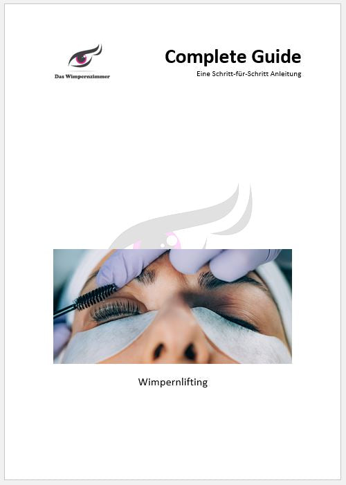 Wimpernlifting | Online-Schulung