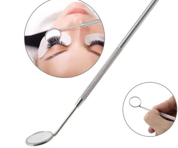 Stainless Steel Checking Mirror For Eyelash Extension