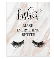 Fashion Art posters for your lash room walls