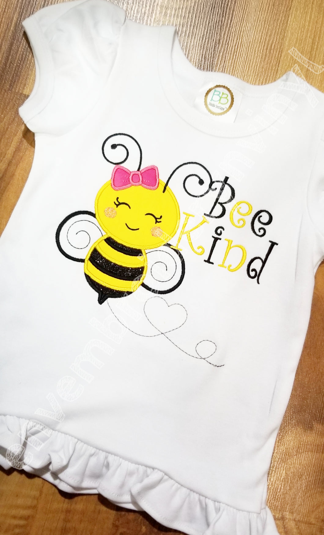 Bee Kind Tank or Ruffle Top