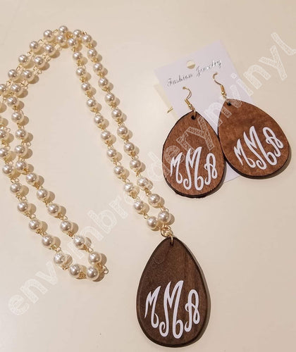 Monogram Wooden Set