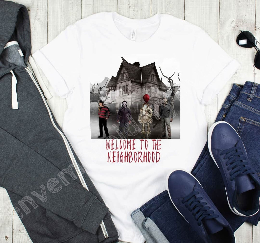 The Neighborhood Horror Tee