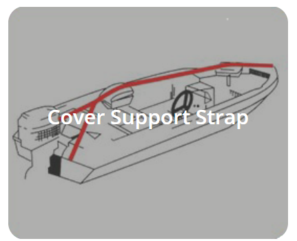 Cover Support Strap | Walk-Winn Plastic Company, Inc. boat hardware parts, transom drain plug, custom boat covers