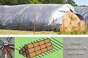 Hay Tarps - Poly-Tec® 10′ X 10′ | Walk-Winn Plastic Co - hay tarps for sale, round bale hay tarps, hay cover tarps, hay tarps for round bales, round bale covers and tarps