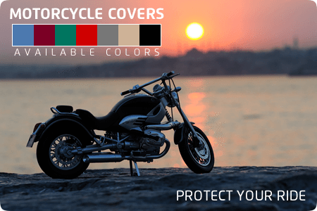 Keep Your Big Bike New-Looking with Our Extra-Strong Motorcycle Covers Blue | Walk-Winn Plastic Company, Inc. boat hardware parts, transom drain plug, custom boat covers