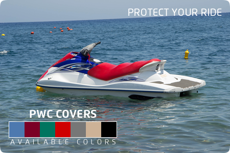 Premium Personal Watercraft Covers Blue | Walk-Winn Plastic Company, Inc. boat hardware parts, transom drain plug, custom boat covers
