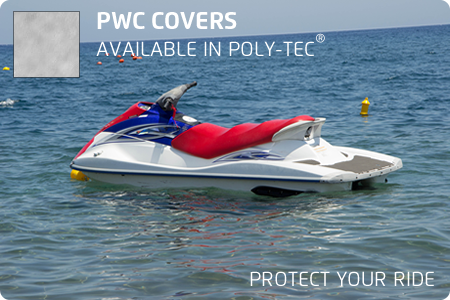 PWC Covers - Poly-Tec® 1 Person | Walk-Winn Plastic Company, Inc. boat hardware parts, transom drain plug, custom boat covers