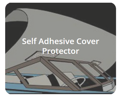 Self Adhesive Cover Protector | Walk-Winn Plastic Company, Inc. boat hardware parts, transom drain plug, custom boat covers