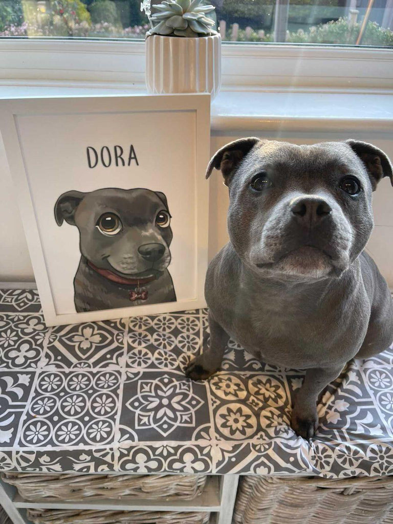 THE DORA PORTRAIT - CHARITY EDITION - WoofiePuppy