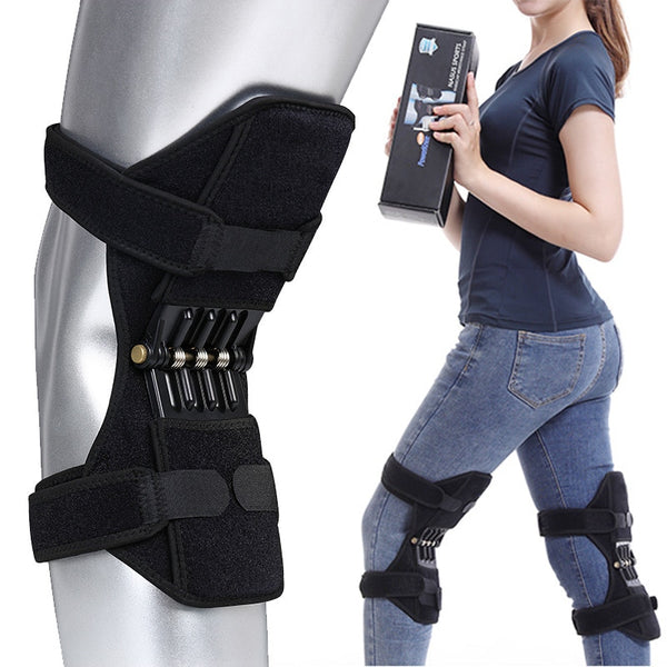 THE Rebound: A Spring-Loaded Supportive Knee Brace