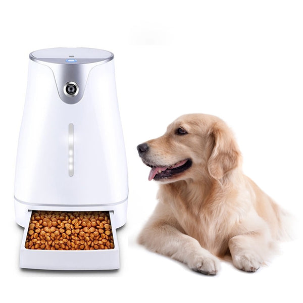 Pet Auto Smart Feeder with Camera