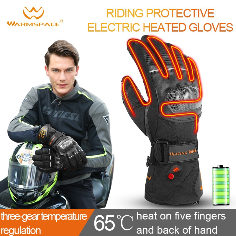 Waterproof Sports Electric Heating Gloves
