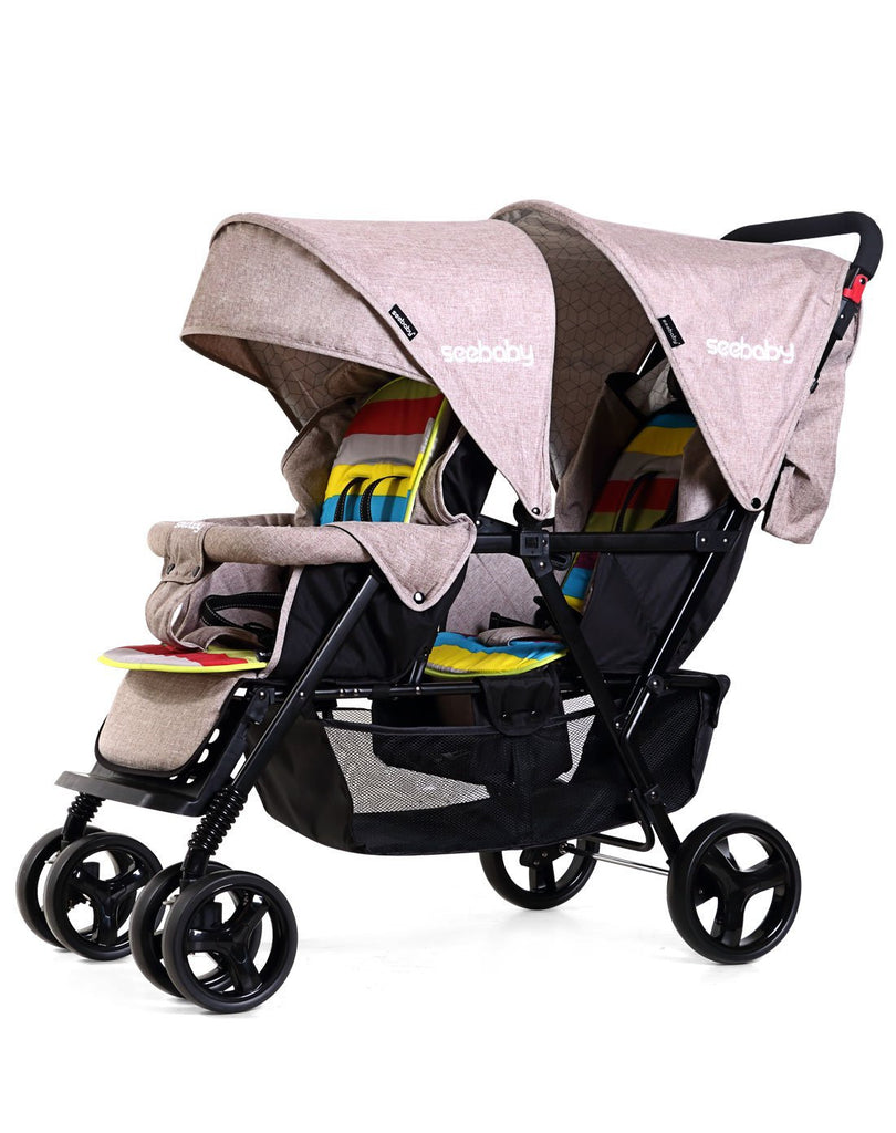 2020 New Design Baby Stroller For Twins